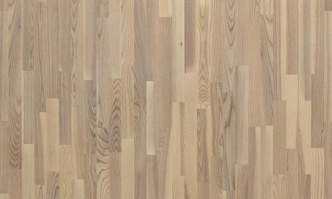 Паркетная доска POLARWOOD Ясень living white matt