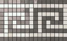 Marvel grey/moon onyx greca mosaico