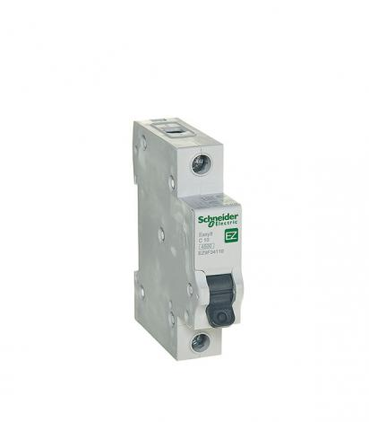 Автомат Schneider Electric Easy9 (EZ9F34110) 1P 10 А тип C 4,5 кА 230 В на DIN-рейку