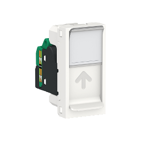 Розетка RJ45 SCHNEIDER ELECTRIC Unica new Белый (ral 9003)