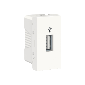 Розетка USB SCHNEIDER ELECTRIC Unica new Белый (rАl 9003)