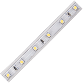 Ecola led strip 220v std 4,8w/m ip68 12x7 60led/m 4200k 4lm/led 240lm/m лента на катушке 50м.